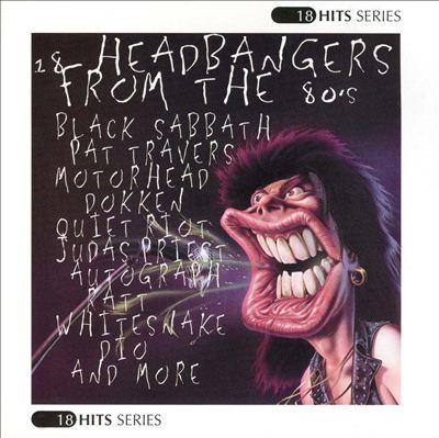 18 Headbangers from the 80's