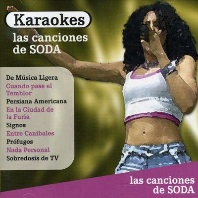 Karaoke Las Canciondes de Soda