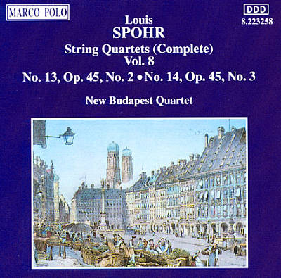 Spohr: Complete String Quartets, Vol. 8