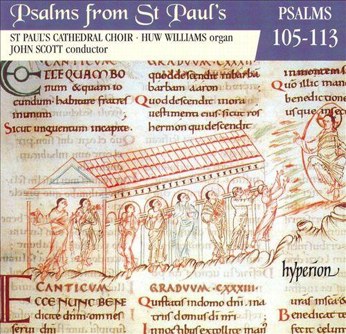 Psalms from St. Paul's, Vol. 9: Psalms 105-113