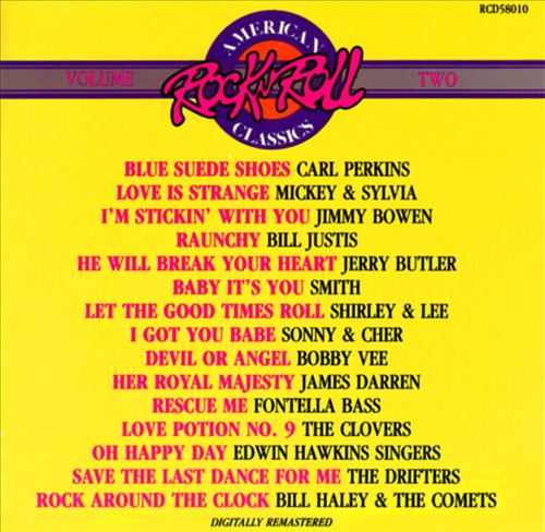 American Rock 'N' Roll Classics, Vol. 2