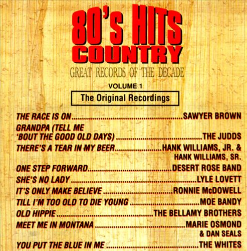 80's Country Hits of the Decade, Vol. 1