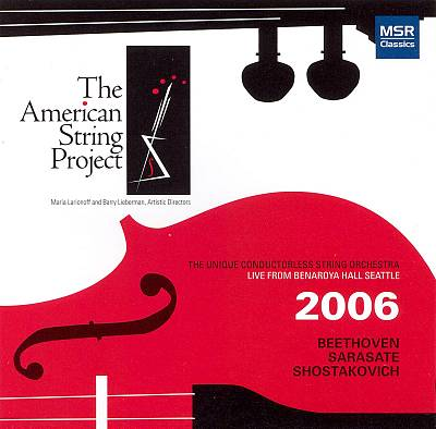 Beethoven, Sarasate, Shostakovich: Works for strings
