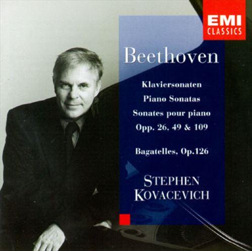Beethoven: Piano Sonatas Nos. 12, 19, 20, 30; Bagatelles, Op. 126