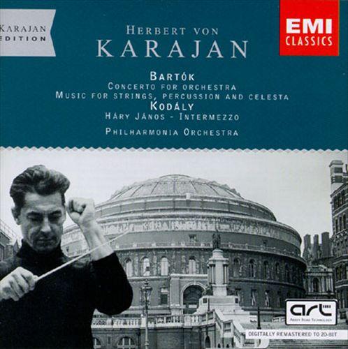 Kodaly: Suite/Bartok: Music/Concerto
