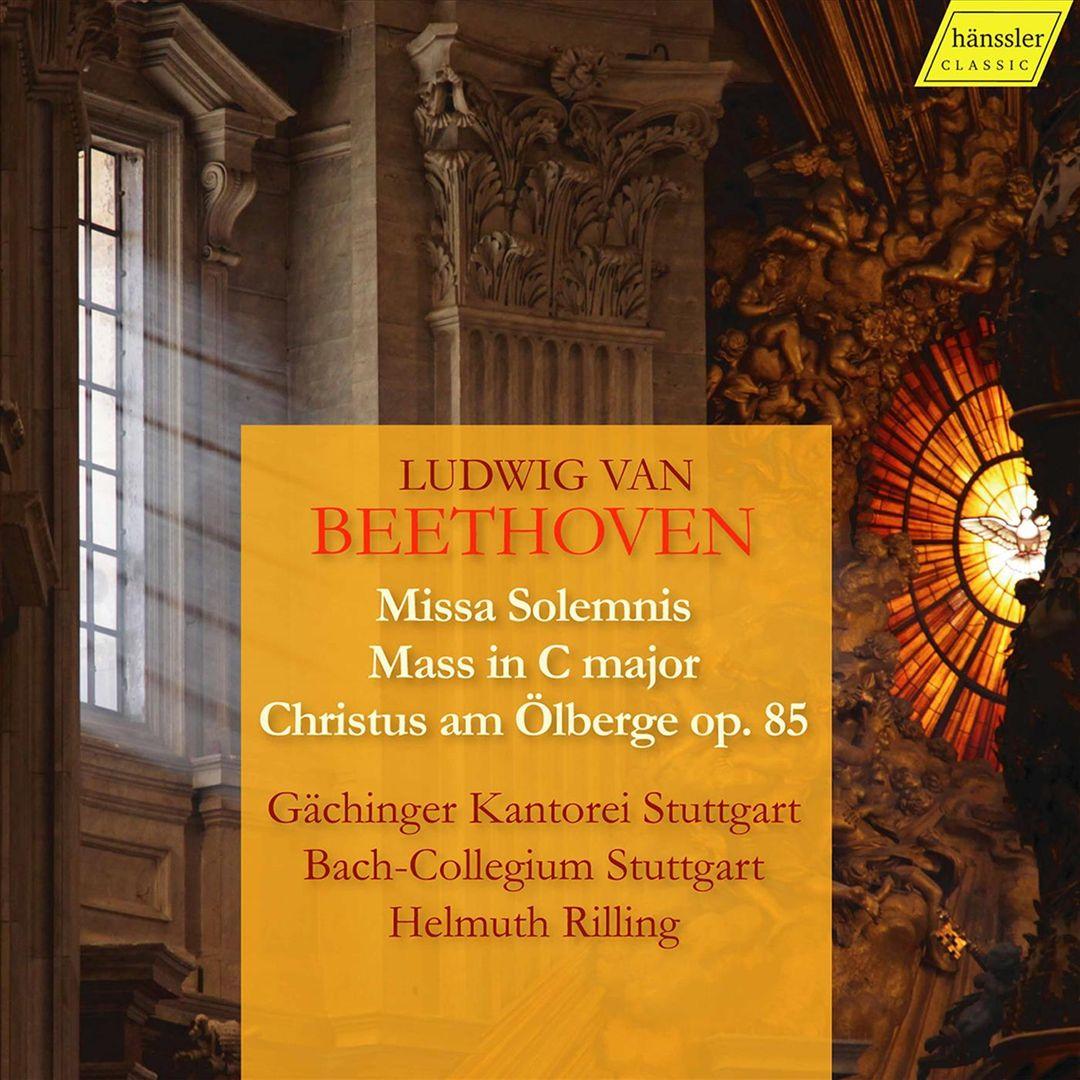Beethoven: Missa Solemnis; Mass in C major; Christus am Ölberge Op. 85