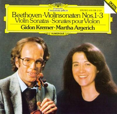 Beethoven: 3 Violinsonaten, Op. 12