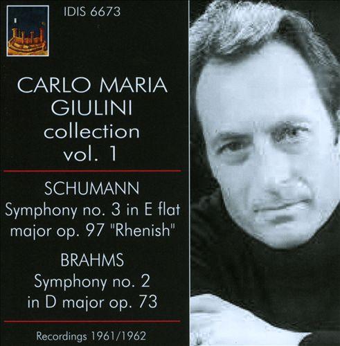Carlo Maria Giulini Conducts Schumann & Brahms
