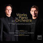 Works for Piano and Orchestra: Rachmaninoff, Tubin