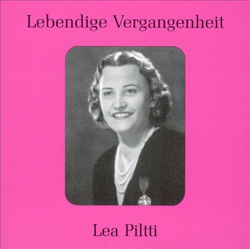 Lebendige Vergangenheit: Lea Piltti