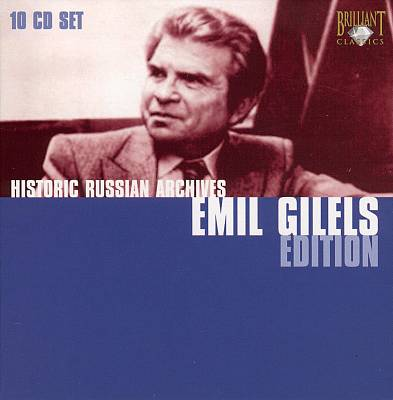 Historic Russian Archives Emil Gilels Edition [Box Set]