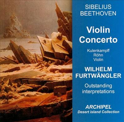 Sibelius & Beethoven: Violin Concerto