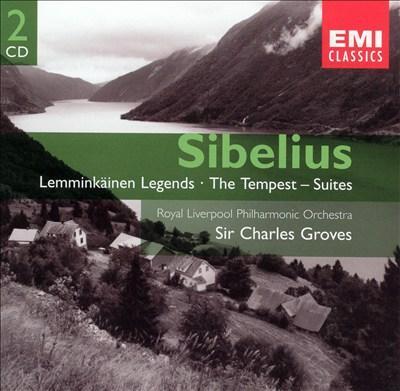 Sibelius: Lemminkäinen Legends; The Tempest - Suites