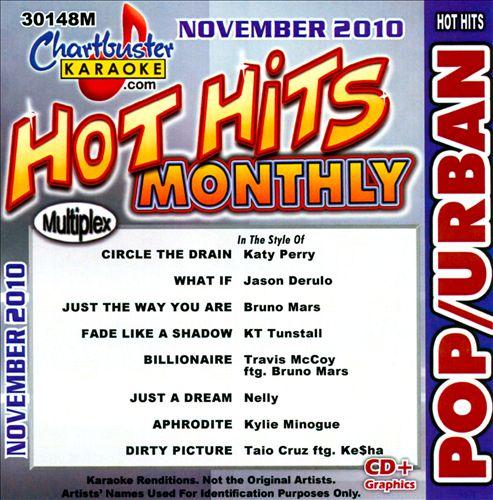 Chartbuster Karaoke: Pop/Urban - November 2010