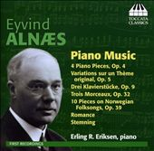 Eyvind Alnaes: Piano Music