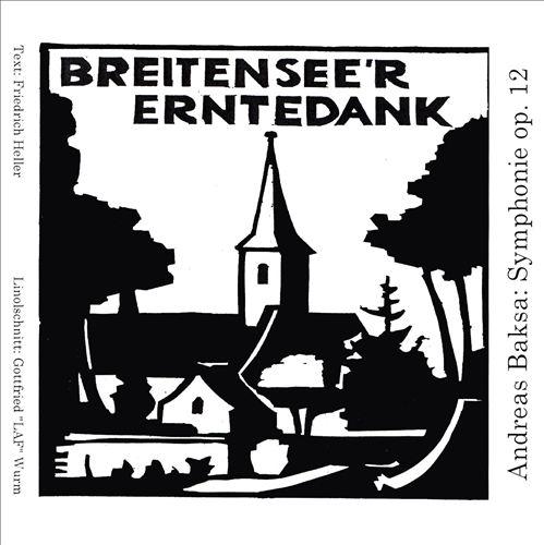 Andreas Baksa: Symphonie Op. 12