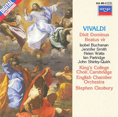 Vivaldi: Dixit Dominus; Beatus vir