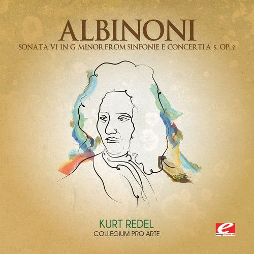 Tomaso Albinoni: Sonata VI G minor from Sinfonie e Concerti a 5, Op. 2