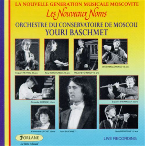 Les Nouveaux Noms, La Nouvelle Generation Musicale Moscovite