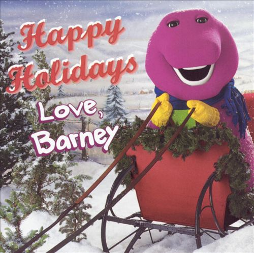 Happy Holidays, Love Barney