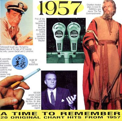 1957: A Time to Remember, 20 Original Chart Hits