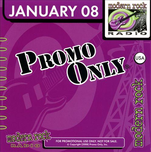 Promo Only: Modern Rock (January 2008)