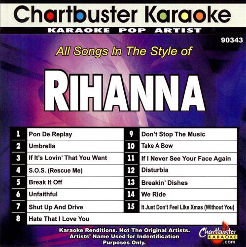 Chartbuster Karaoke: Rihanna [2009]