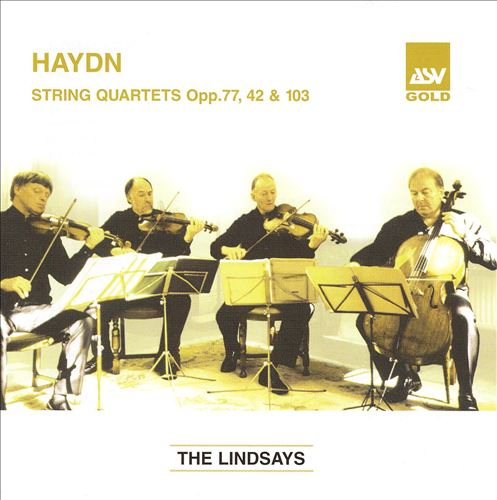 Haydn: String Quartet Opp. 77, 42 & 103