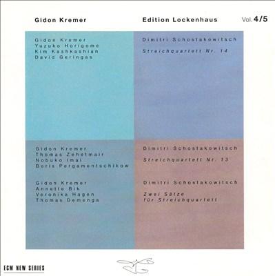 Shostakovich: String Quartets No. 13 & 14; Schulhoff: Sextet; Jazz Etudes; etc.
