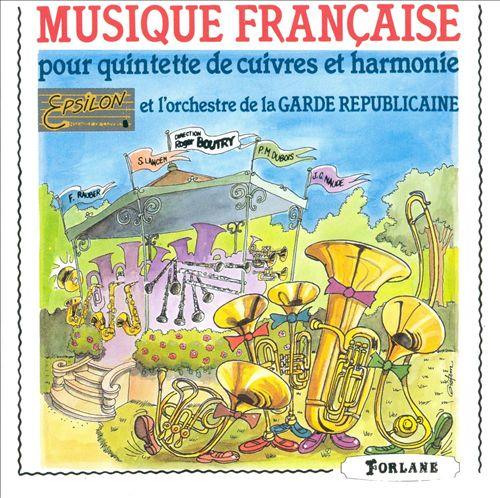 Musique Francaise pour quintette de cuivres et harmonie