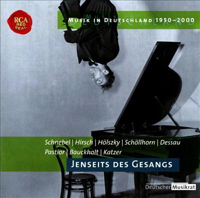 Musik in Deutschland 1950 - 2000, Vol. 31: Jenseits des Gesangs