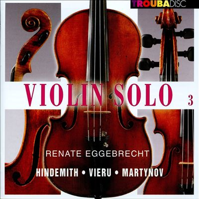 Violin Solo, Vol. 3
