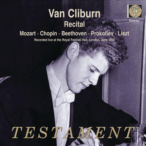 Van Cliburn plays Mozart, Chopin, Beethoven, Prokofiev & Liszt