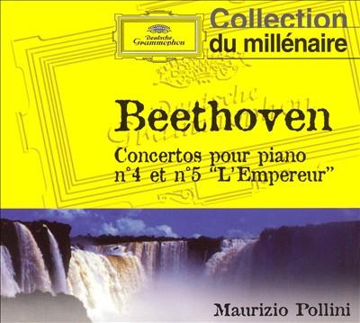 "Beethoven: Concertos pour piano no. 4 et no. 5 ""L'Empereur"""