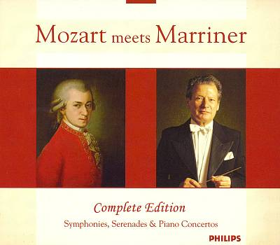 Mozart meets Marriner [Box Set]
