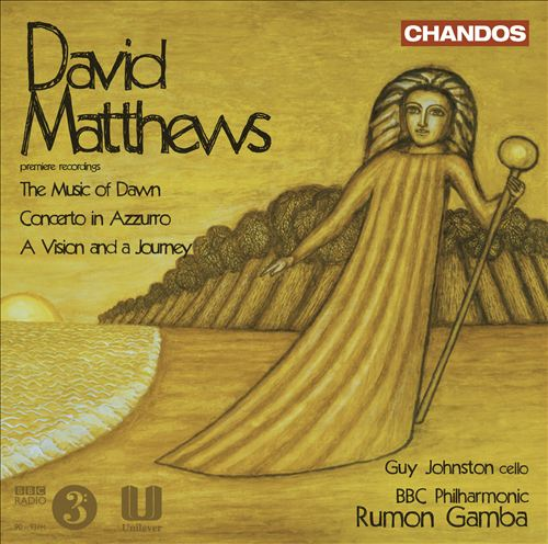 David Matthews: The Music of Dawn; Concerto in Azzurro; A Vision and a Journey