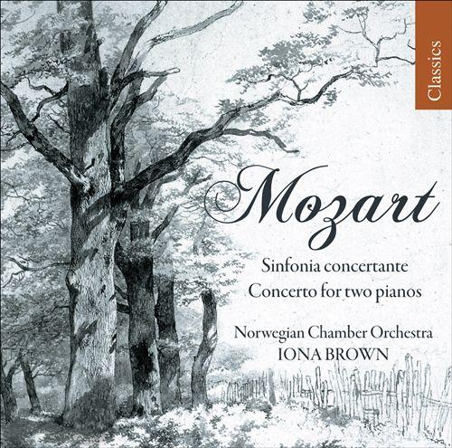Mozart: Concerto K 365; Sinfonia K 364