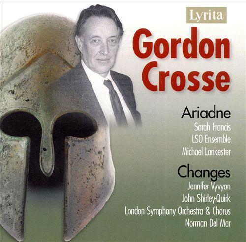 Gordon Crosse: Ariadne; Changes