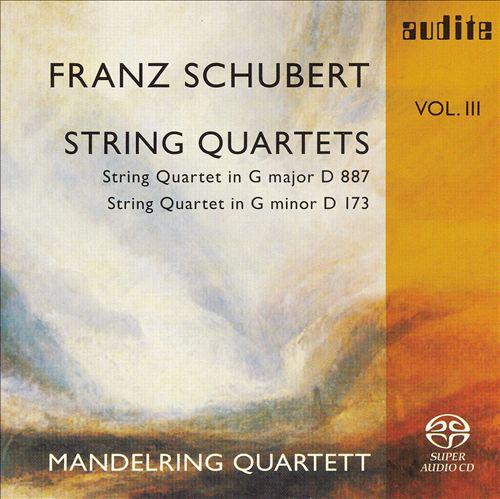 Schubert: String Quartets, Vol. 3