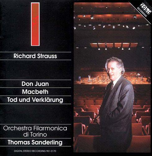 Richard Strauss: Don Juan; Macbeth; Tod und Verklärung