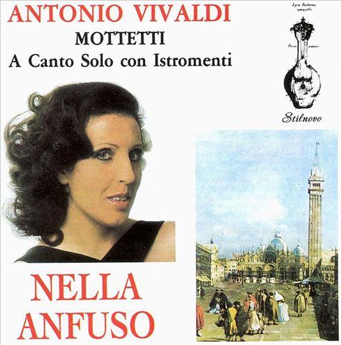 Vivaldi: Mottetti a cauto solo con istomenti