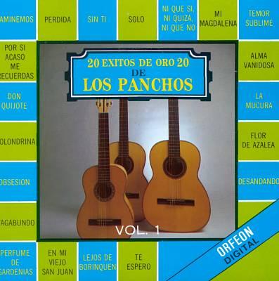 20 Exitos de Oro de los Panchos, Vol. 1