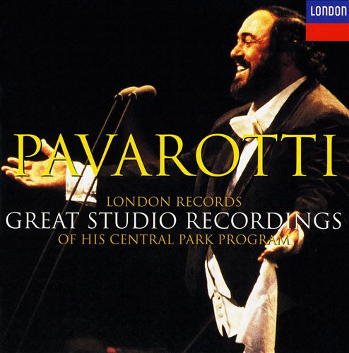 Pavarotti: London Records Great Studio Recordings of his Central Park Program