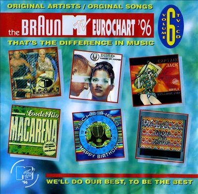 The Braun MTV Eurochart '96, Vol. 6