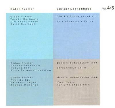 Lockenhaus Edition, Vol. 4-5
