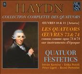 Haydn: Collection Complete des Quatuors, Vol. 8 - Les Quatuors Oeuvres 73 & 74 (Opp. 71 & 74)