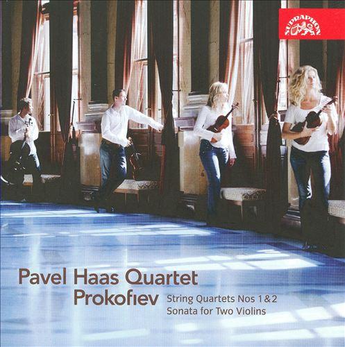 Prokofiev: String Quartets Nos. 1 & 2; Sonata for 2 Violins
