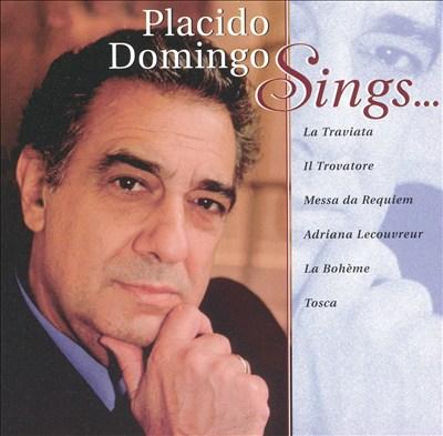 Placido Domingo Sings...