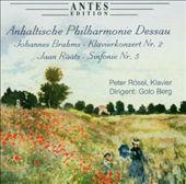 Brahms: Klavierkonzert No. 2; Rääts: Sinfonie No. 5