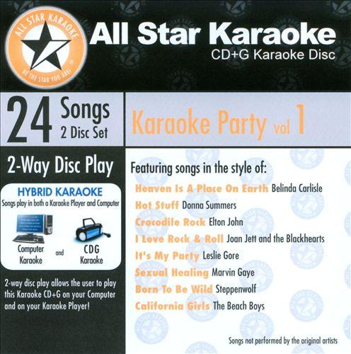 Karaoke Party, Vol. 1 [All-Star Karaoke]